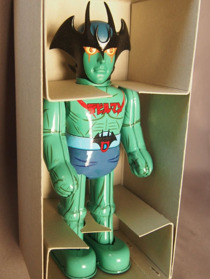 Devilman Wind Up Tin Toy Made by Billiken $150