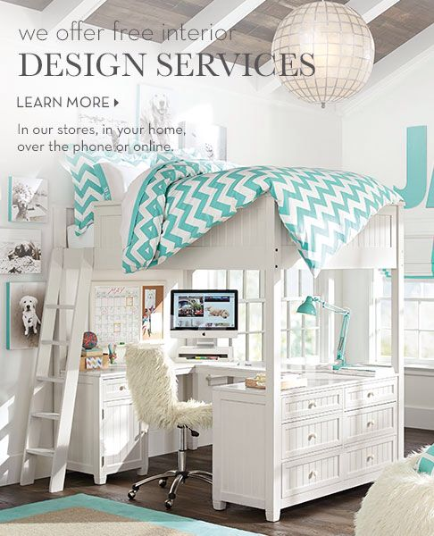 Beds Free Design Design Services Girl Forever Design Studios Blue And