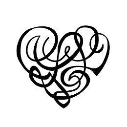 G+L+L heartigram tattoo