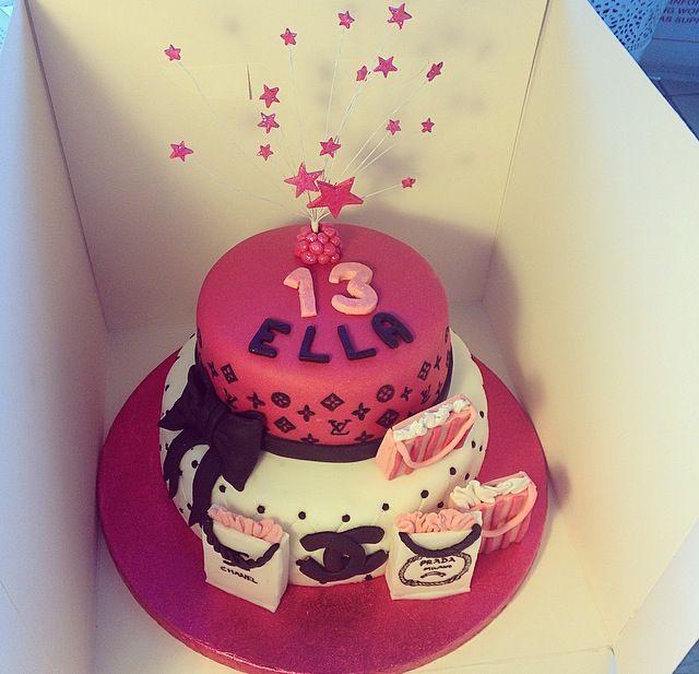 #CocoChanel #LouisVuitton #Prada #Cake