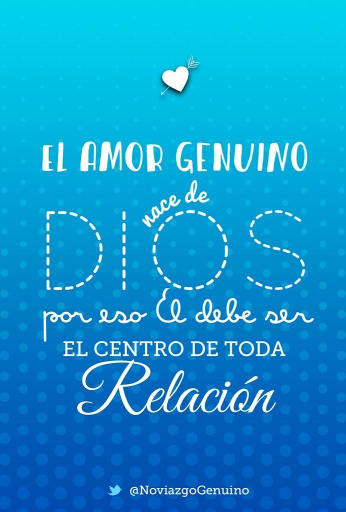El amor genuino nace de Dios. Por eso Él debe ser el centro de toda relación!   Instagram: http://instagram.com/p/rQd2IFhj6Y/ pic.twitter.com/xH73uOKdeF
