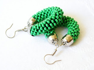 Fluo color earrings