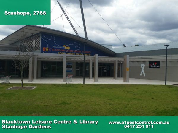 A photo of the Blacktown leisure and library