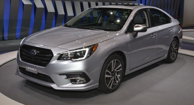 2018 Subaru Legacy Brings Subtlety To Chicago Auto Show