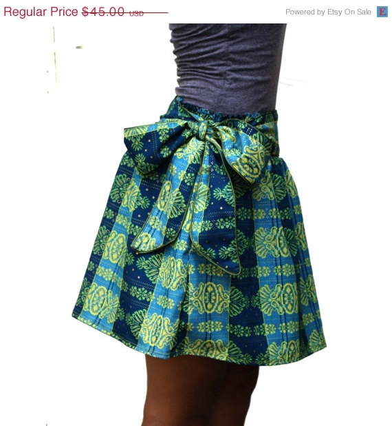 ON SALE 30 Spring / Summer Fashion Green and Blue by LoNaDesign