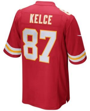 Nike Men's Travis Kelce Kansas City Chiefs Game Jersey - Red XXL
