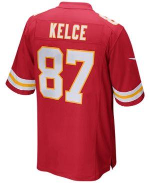 Nike Men's Travis Kelce Kansas City Chiefs Game Jersey - Red XXL
