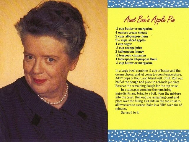Aunt Bee's Apple Pie