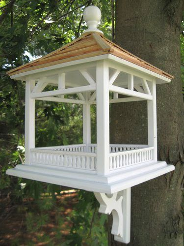 Gazebo Bird Feeders, Quality Crafted Gazebo Bird Feeders, Gazebo Style Bird Feeders For Feeding Backyard Birds at Songbird Garden
