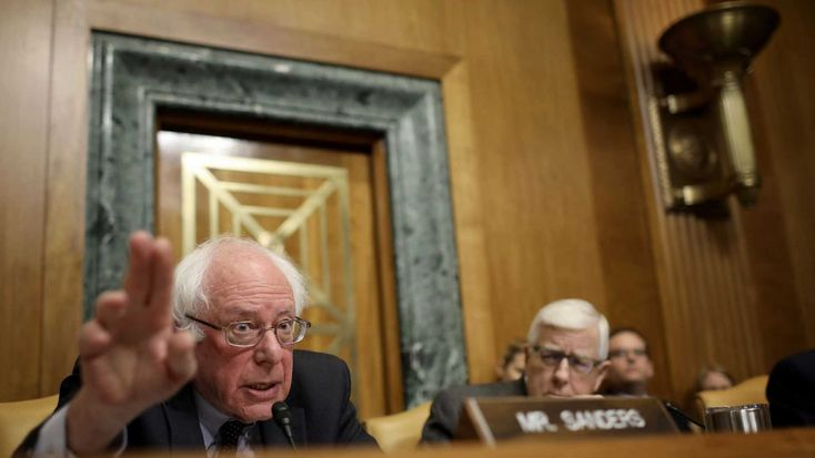 Curmudgeon Bernie Sanders Gets Grumpy When Chuck Todd Brings Up His Own Voting Record On Guns