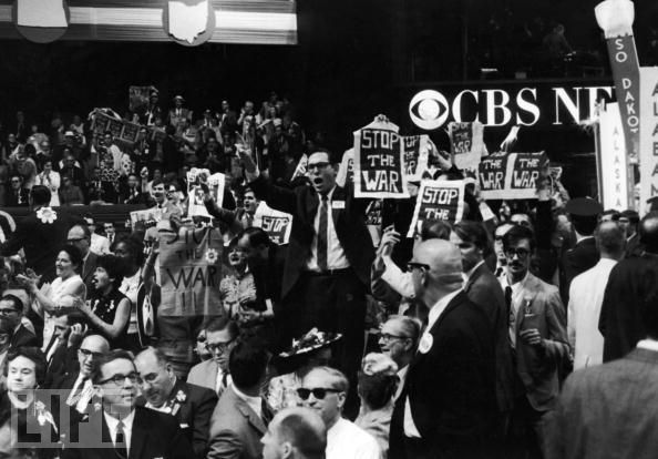 1968 Democratic National Convention | 1968 Democratic National Convention | ... protest Vietnam war in 1968 ...