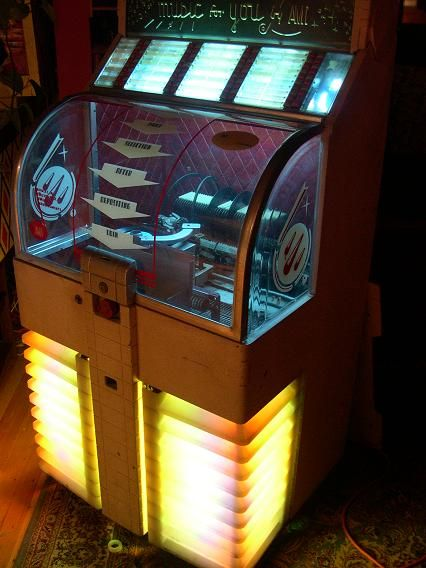 mid century jukebox