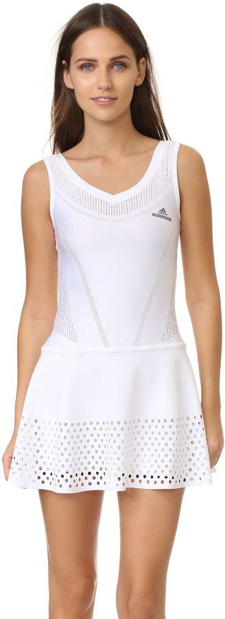 adidas by Stella McCartney Tennis Stella Prime Knit Dress, white, weiss, Adidas, Tennis Fashion Women #tennis #fashion #sport #women #court #tennismode #mode #frauen #tennisoutfit #outfit #trendy #nike #reebok #nikecourt #adidas #newbalance - trendy Tennis Outfits for her - Tennis Outfits für Sie. Tennismode, sportliche Mode fürs Tennisspielen.