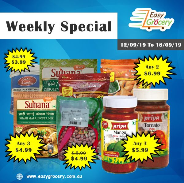Groceries Stuff Easy Grocery Weekly Offers Grocery Buying Groceries Online Indian Grocery Store