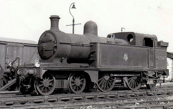 BR (LNER) (GNR)  Ivatt C12 class  4-4-2 T