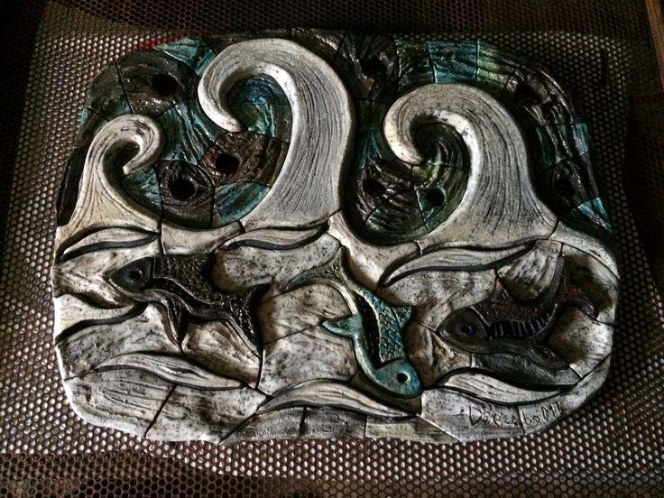 Mural en raku