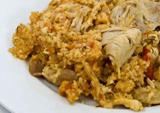 Risotto au poulet et au chorizo au Cooking Chef