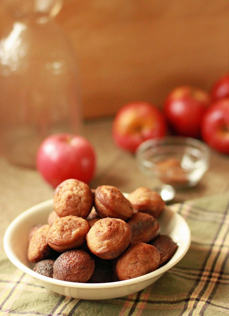 Apple Cinnamon Doughnut Holes