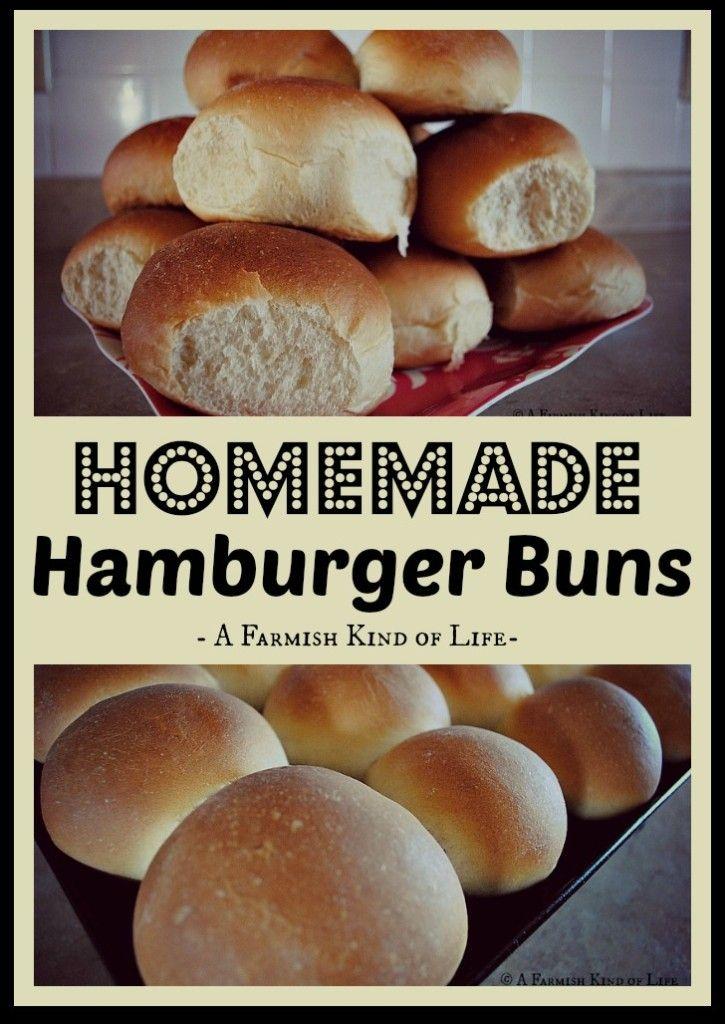 Ponad 1000 pomysłów na temat: Homemade Hamburger Buns na ...
