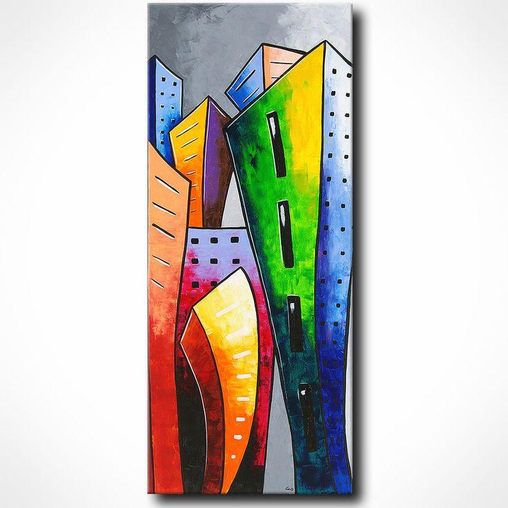 novaarte gem u00e4lde abstrakt acryl malerei modern leinwand bild xxl unikat original