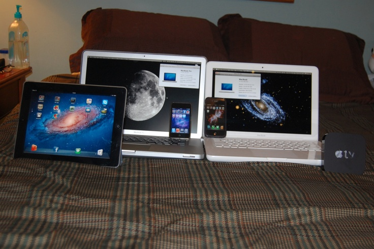 Yep! Just a few Apple products! And every item in this image has its warranty voided.Apple Products, Apples Products