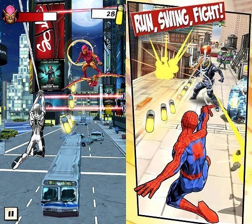 4 Free Magnificent Marvel Games For Android