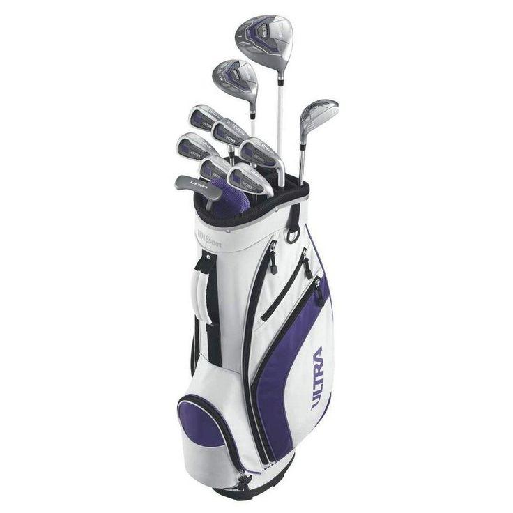 Wilson Golf Clubs, White, Golf Clubs