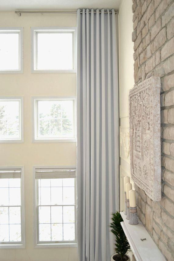 Extra Long Blackout Curtain Wide Drape Insulated Homediy Extra Long Curtains Long Curtains Curtains