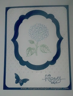 Stampin' Up! Best of Flowers - Hydrangea in Midnight Muse