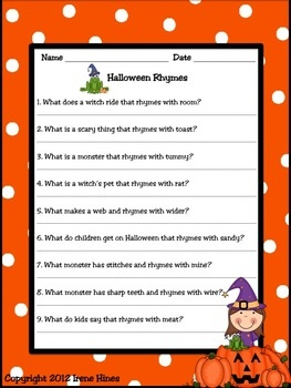 halloween happenings a thematic activity packet for october halloween - Halloween Printable Book 2