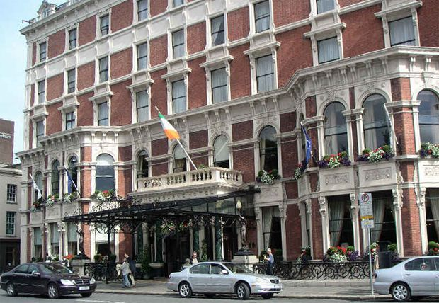 The Shelbourne Hotel, Dublin, Ireland.  Dublin houses a great number of bars as well as restaurants, cafs and entertainment venues, all of which add to its famous nightlife. Description from monkeyployid71.beep.com. I searched for this on bing.com/images