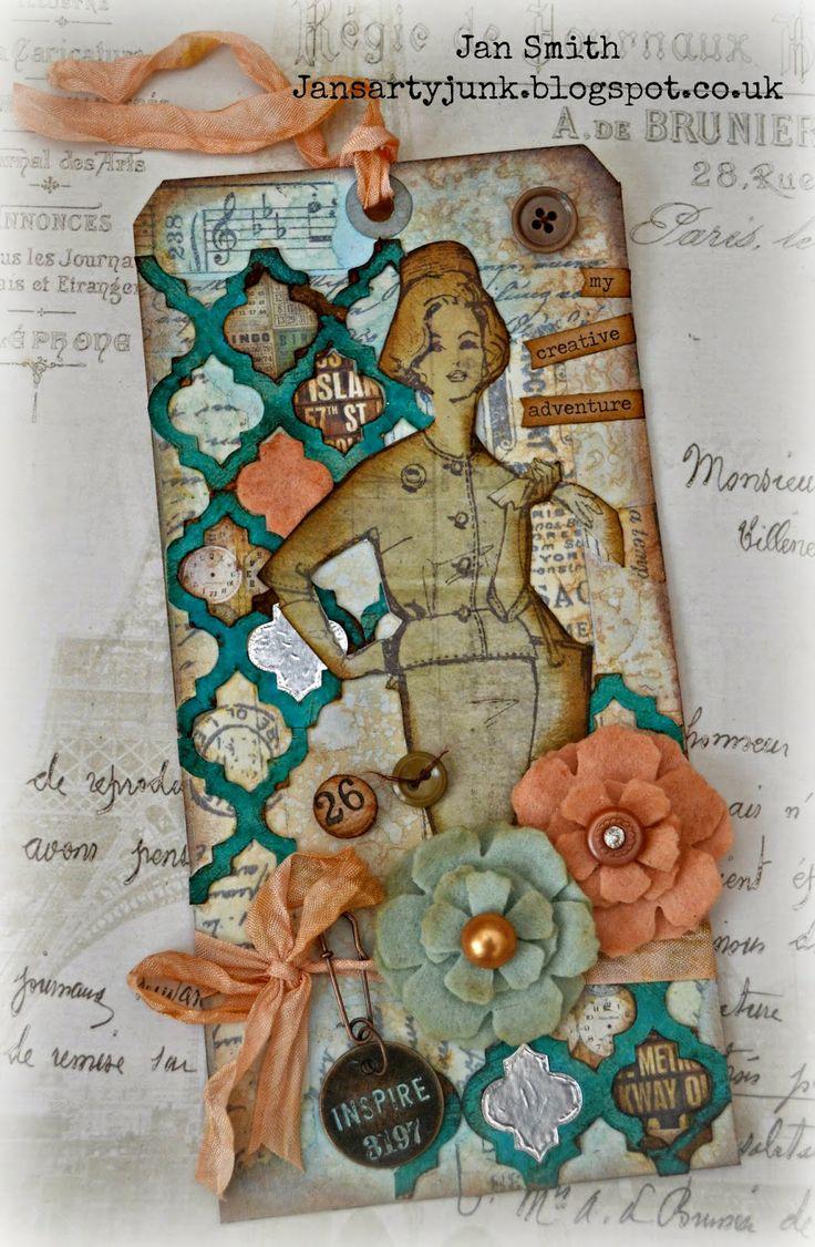 Jan's Arty Junk: April Flowers..... http://jansartyjunk.blogspot.co.uk/2014/04/april-flowers.html