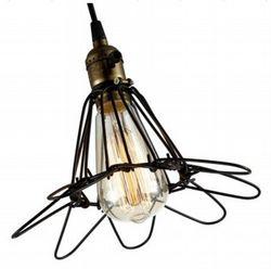 ST 64 dimbare Edison Led filament lamp  ST64-5W E27 amberkleur glas