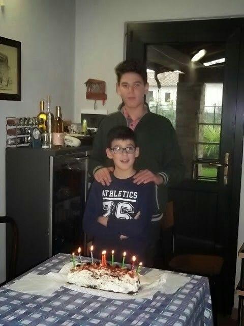 My nephews Tito and Filippo