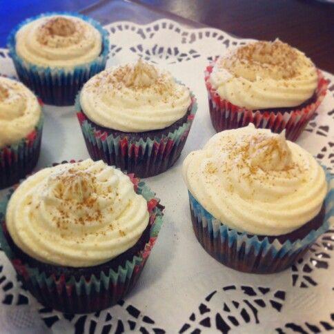Chai spiced cupcakes. Vegan.