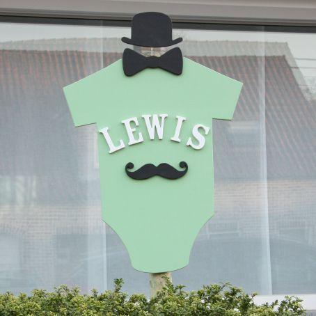 Geboortebord Lewis