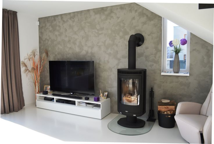 Krásne české kachle ABX v inšpiratívnej obývačke. #stove #livingroom #kachle #abx #krbex