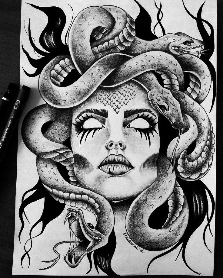 Bild Tattoos, Leg Tattoos, Body Art Tattoos, Sleeve Tattoos, Tattoo Thigh, Sugar Skull Tattoos, Maori Tattoos, Medusa Tattoo Design, Tattoo Designs
