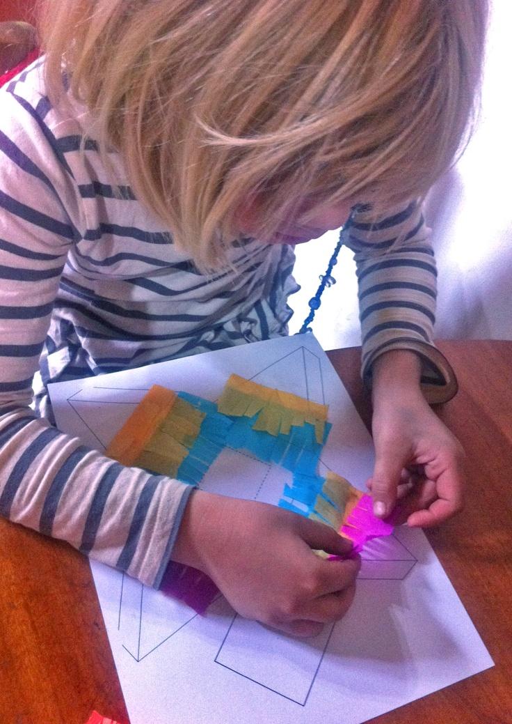Making mini piñatas! Tutorial to follow on happythought.co.uk soon!