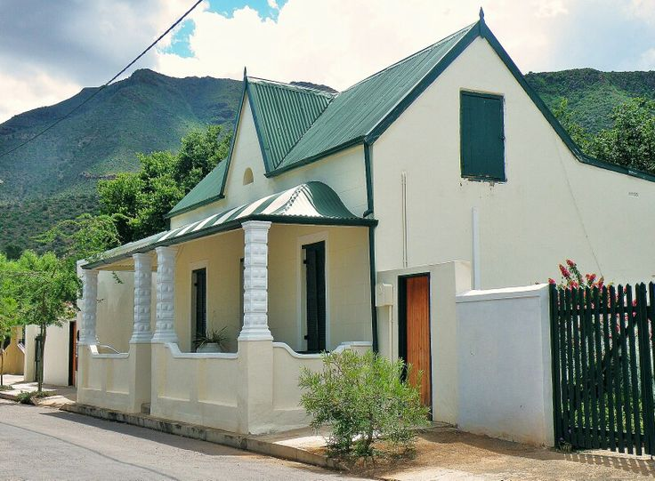 Graaff Reinette architecture, Eastern Cape, South Africa, 2010.