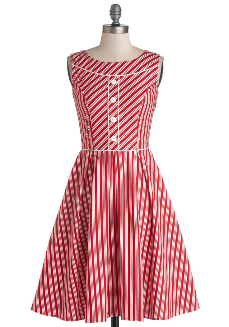 Peppermint candy cane dress