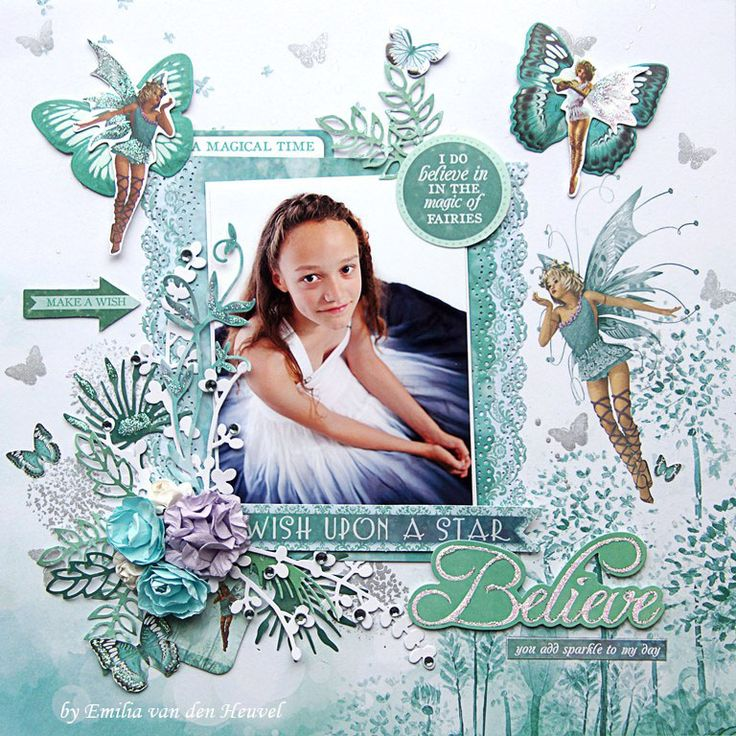 Believe in Fairies Kaisercraft - Fairy Dust Collection