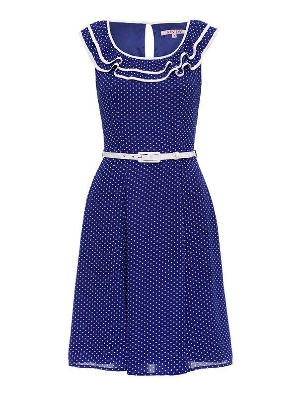 Petra Spot Dress