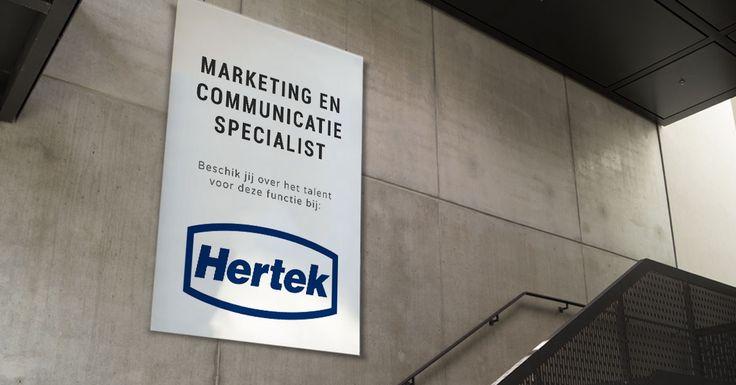 Ben jij de Marketing & Communicatie Specialist die de marketing- en communicatieactiviteiten voor de gehele Hertek Groep vanuit Weert gaat verzorgen? Solliciteer via: https://www.wetalent.nl/recruit/vacatures/hertek/marketing-en-communicatie-specialist/258/   #Marketing #Communicatie #Hertek #Weert