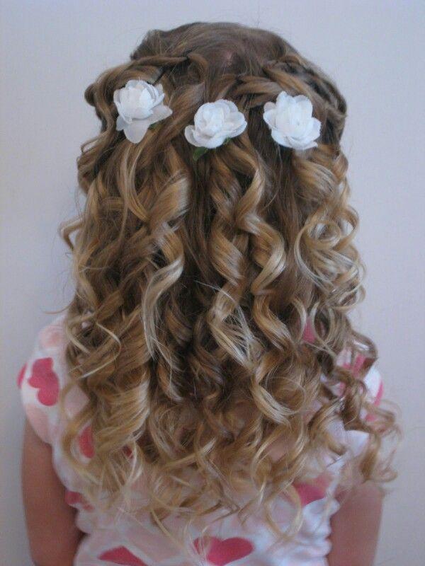 Cute girls hairdo