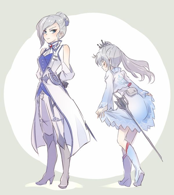RWBY Weiss and winter