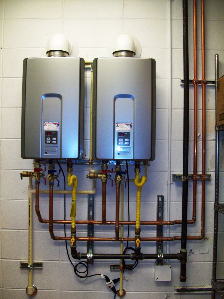 17 best images about tankless water heaters on pinterest - Exterior hot water heater enclosure ...