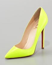 Christian Louboutin Pigalle Neon. Only 625.00... I'll have that never.