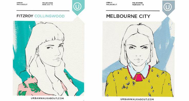 Fitzroy/Collingwood Melbourne City Emma Leonard: Cover Artist - Urban Walkabout melbourne blog