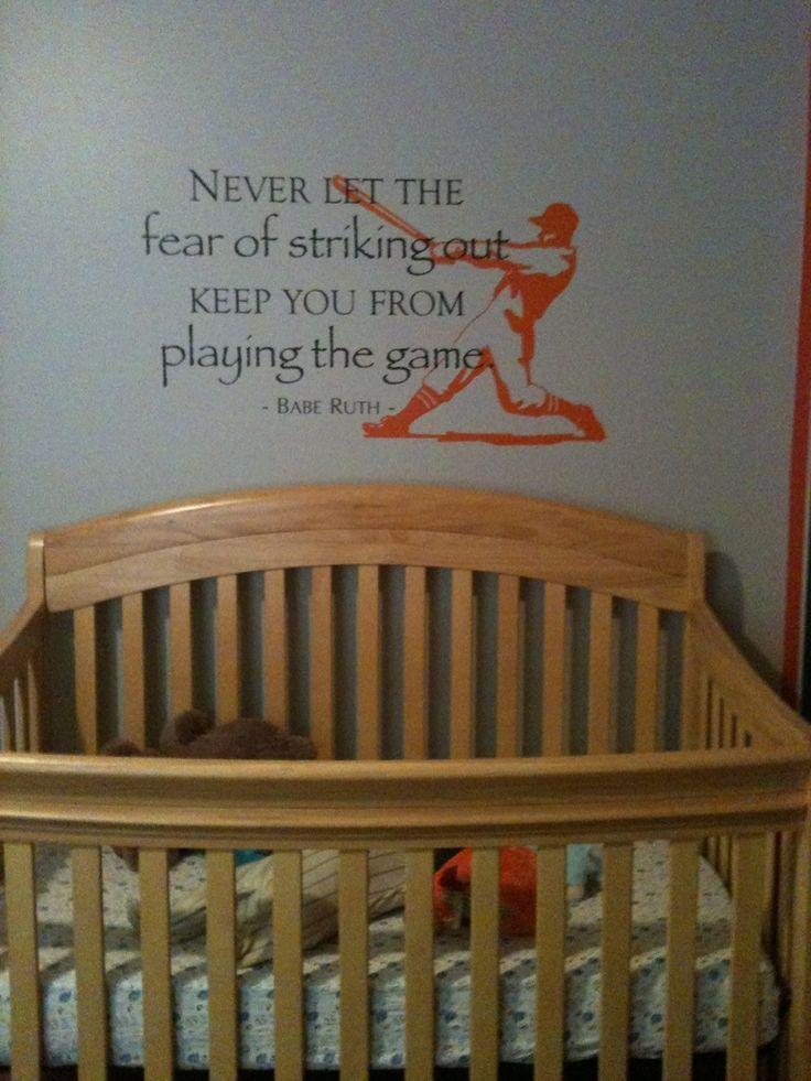 Vintage Baseball Nursery Help